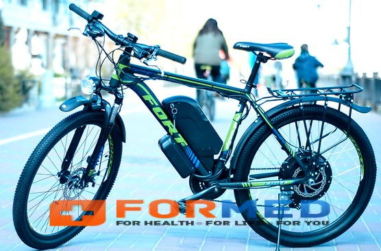 Электровелосипед FortDiscovery NEW 500W (2017)